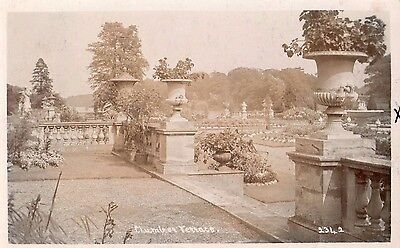 clumber house terrace real photo postcard 1906