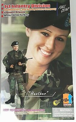"DRAGON 1/6 "" HEATHER "" 1st Infantry Division - Ref 70276 - 12 inch - DID"