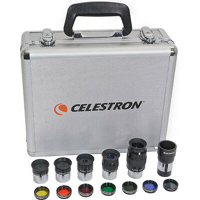 Celestron - 1.25 Inch Telescope Eyepiece and Filter Accessory Kit new