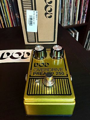 DOD -  250 Overdrive Preamp - 2013 Edition -