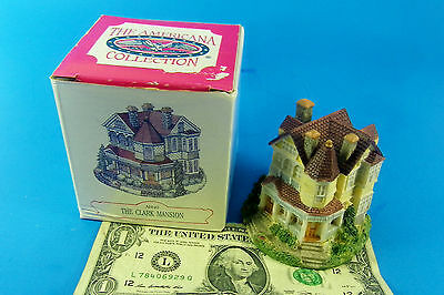 N SCALE ??? Americana Collection Liberty Falls The Clark Mansion AH40 *1994*