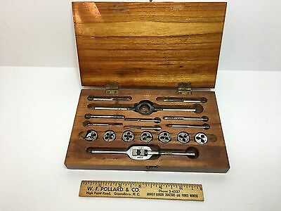 Boxed Set vintage Butterfield Tap & Die set No.68C Used MADE IN USA