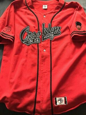 1993 Nike Spike Lee Crooklyn 40 Acres And A Mule Baseball Style Jersey Afro