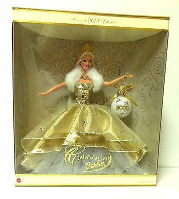 Celebration Barbie Special 2000 Edition New in Box Millennium Gold Collectors