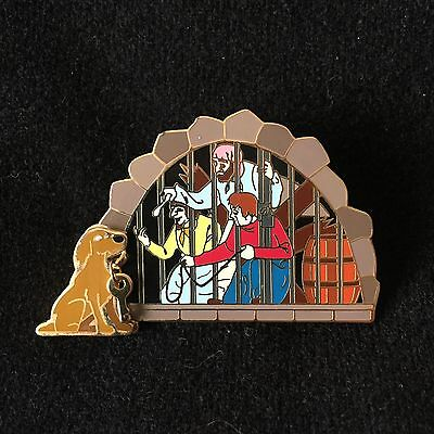 Pirates of the Caribbean Jail Scene with Dog and Key Disney Pin