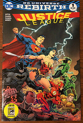 Justice League #1 Sdcc Comic Madness Ed Benes Variant - Nm