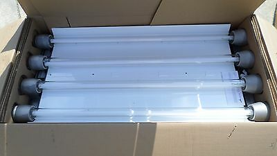 6 Cooper Crouse-Hinds Explosion Proof Lights Fixture EVF24029/UNV Paint Booth