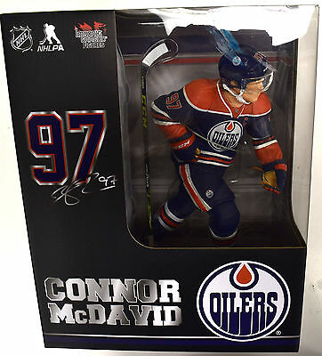 """NHL Import Dragon Figures Connor McDavid 12"""" Action Figure Limited 1750"""