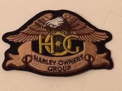 Harley Davidson Owners Group sew on patch