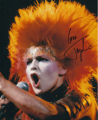 Toyah Willcox SIGNED photo - J321 - English singer and actress