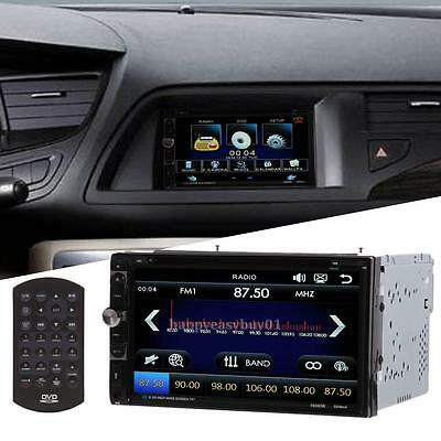 HD 7'' Touch Bluetooth Car Radio Stereo MP3 MP4 Player AUX/GPS/USB/Remote 2DIN