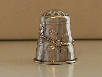 Nice Mexican 925 Sterling Silver Thimble, MPMC Iguali