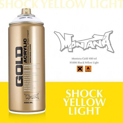 Montana Gold shock yellow light