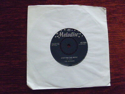 THE NUTRONS 'Stop For The Music/The Very Best Things' 1964 Melodisc 45/1593  VG+