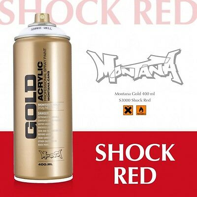 Montana Gold shock red