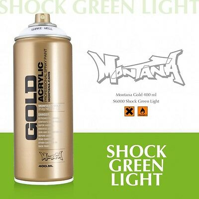 Montana Gold shock green light