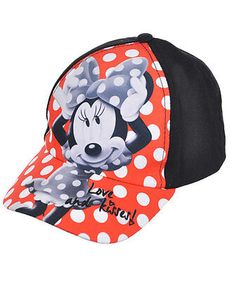 """Minnie Mouse """"Love and Kisses!"""" Baseball Cap (Youth One Size)"""