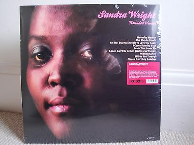 Sandra Wright Wounded Woman Soul Brother SBCS 74 Sealed Unopened LP