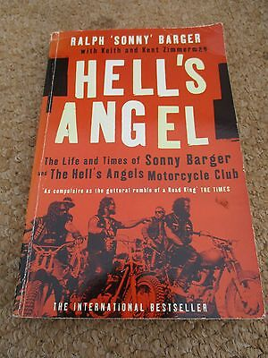 Hells Angels. Paper Book   The Life And Times Of Sonny Barger .