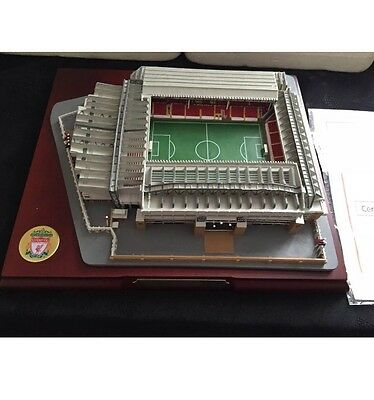 Liverpool Anfield Stadium With Box And Certificate