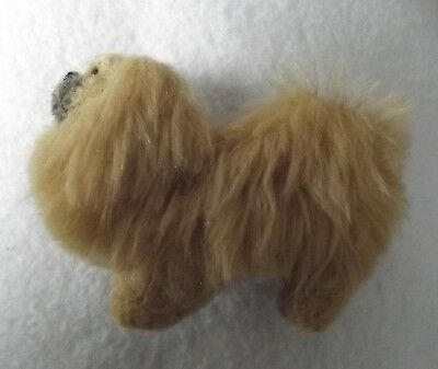 TIBETAN SPANIEL dog Part NEEDLE FELTED PIN BROOCH
