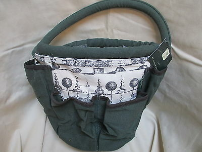 GARDEN BAG from the ROYAL HORTICULTURAL SOCIETY. Useful, sturdy, pockets and FAB