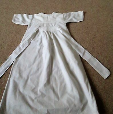 Vintage baby nightdress cotton L25""