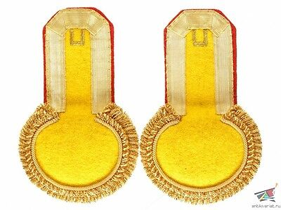 Ober-Officers Grenade Infantry Type Epaulettes gold Russian Imperial Army, copy