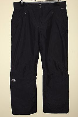 THE NORTH FACE HyVent Men Black Filled Ski Snowboarding Pants Trousers, Size XL