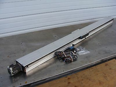 THK GL15-1500L Linear Screw Actuator Slide 1500mm W/ IMS MDrive 23 Motor & More!