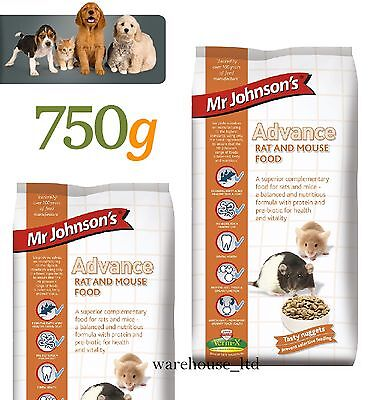 Mr. Johnson's Advance Rat & Mouse Food-750g