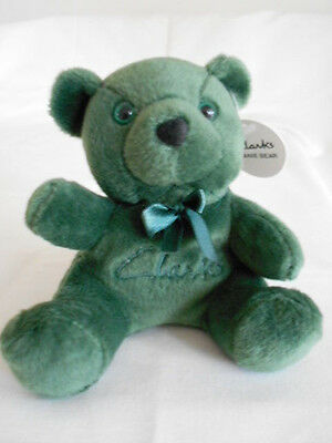 Rare Beanie Bear. Nice condtion with tags. Green Clark's Shoes.