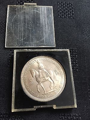 Five Shilling Coin In Case