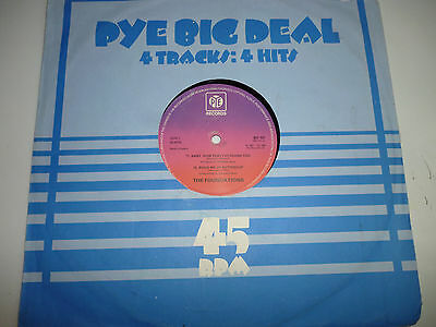 """The Foundations 4 Track 12"""" Single Pye Big Deal"""