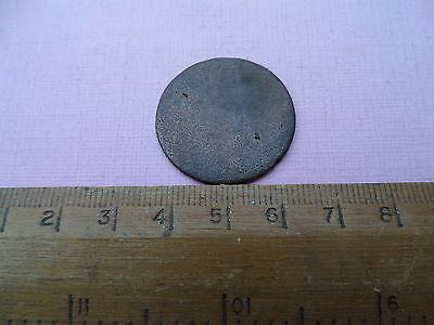 William and Mary half penny coin (216)