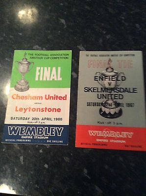 2 Amateur Cup Finals From 1967 And 1968 Enfield V Skelmersdale Chesham V Leyton