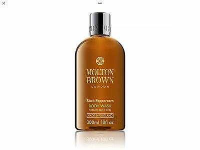 Molton Brown Black Peppercorn / Black Pepper Body Wash - 300ml - NEW
