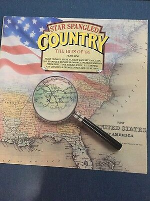 Star Spangled Country - The Hits Of 84 - Record Lp