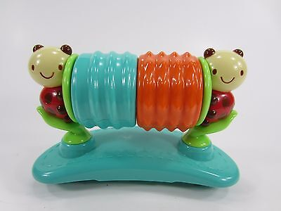 Bright Starts Safari Bounce Activity Replacement Part Saucer Spin Rattle ladybug