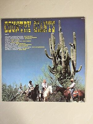 Country Giants - Record Lp - Cds 1127