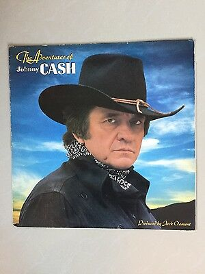 Johnny Cash - The Adventures Of Johnny Cash - Record Lp