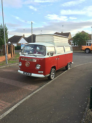 VW Type 2 Bay Window Devon Camper 1972 RHD T2