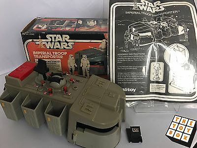 Vintage Star Wars ANH Boxed Palitoy Imperial Troop Transporter