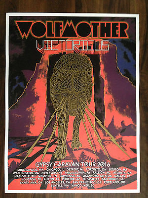 Wolfmother 2016 Tour Poster
