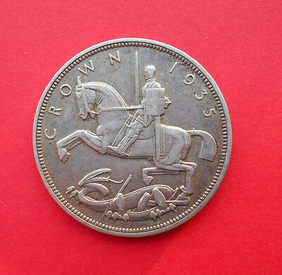1935 George V Crown - Silver Jubilee Issue