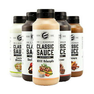 Got7 Classic Sauces, Sugar Free, Low Carb, Fat Free, Low Calories, Gluten Free