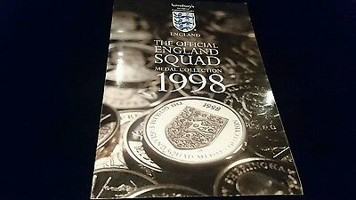 *** Rare Complete 1998 england world cup Coin collection sainsburys France 98