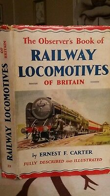 observer book of railway locomotives