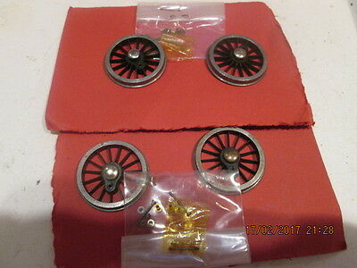 0 GAUGE LOCO DRIVING WHEELS 32.4mm Qty.4