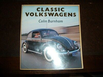 Classic Volkswagens by Colin Burnham (Paperback, 1988)